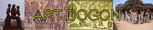 Lien vers la page de www.zouba.org sur des exemples de l'art Dogon